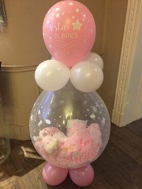 Ballon gevuld A Star is Born meisje
