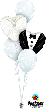 boeket bride and groom