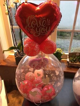6 - Ballon gevuld met lekkernijen Valentijn