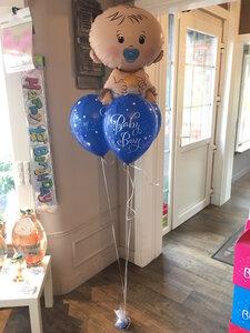 Ballonboeket Baby Boy