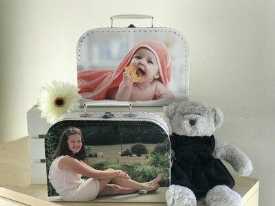 Koffertje met foto