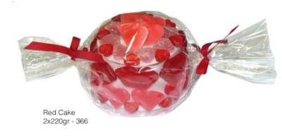 9 - red cake 220gr.