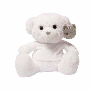 Teddybeer wit met t-shirt