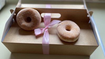 Donut sugar box 9 stuks