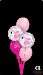 boeket flamingo birthday