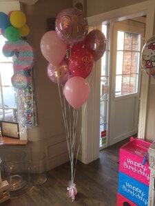 Ballonboeket 7 ballonnen it's a girl