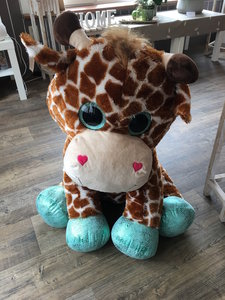 Reuze giraf superknuffel